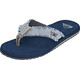 Quiksilver Monkey Abyss Men Sandals grey/grey/blue
